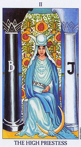 Billedresultat for the high priestess radiant