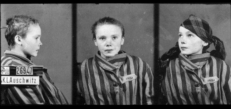 Czeslawa Kwoka, age 14, appears in a prisoner identity photo provided by the Auschwitz Museum, taken by Wilhelm Brasse while working in the photography department at Auschwitz, the Nazi-run death camp where some 1.5 million people, most of them Jewish, died during World War II. Czeslawa was a Polish Catholic girl, from Wolka Zlojecka, Poland, who was sent to Auschwitz with her mother in December of 1942. Within three months, both were dead. Photographer (and fellow prisoner) Brasse recalled…