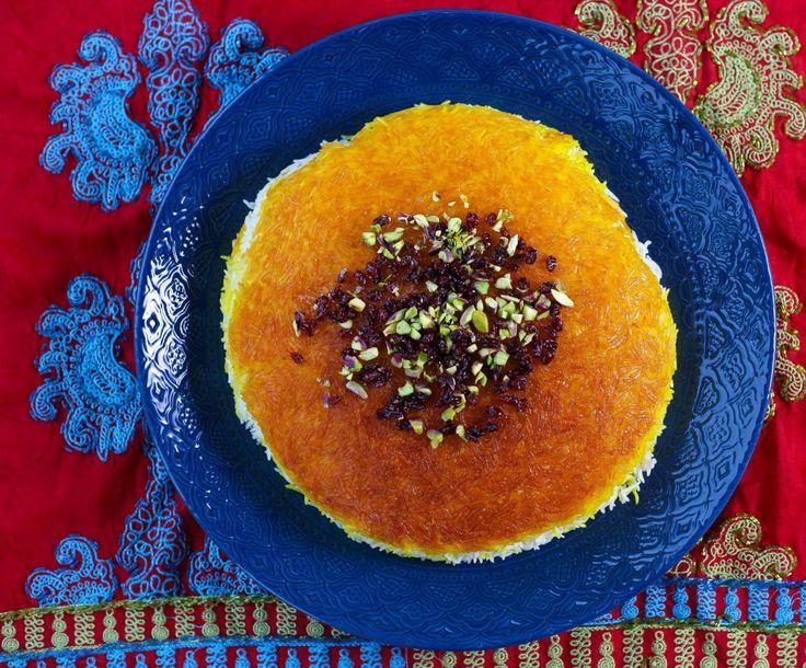 Persiskt ris med tadig