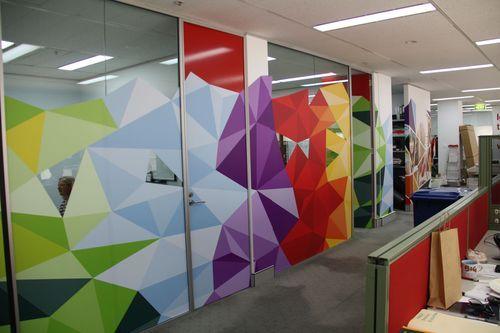 colourful walkways for schools