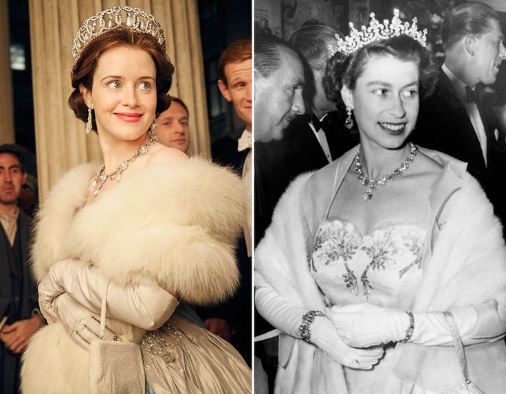 Netflix\'s The Crown and the Royal Family: How much do the actors; Claire Foy, Matt Smith & Vanessa Kirby look like the real Royal Family.