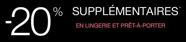 #CodePromo #Reduc #Etam : 20% de #reduction sur la nouvelle collection prêt-à-porter et #Lingerie