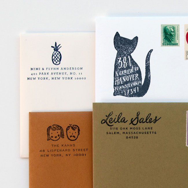 Idlewild Co. Custom Return Address Stamps