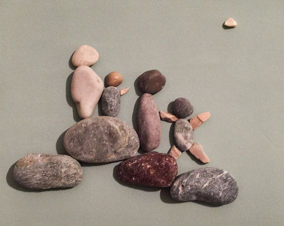Stone people-Big family by LiseStones on Etsy