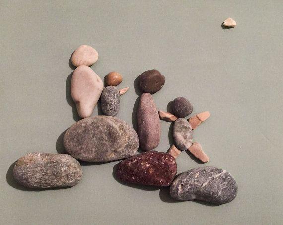 Stone people-Big family by LiseStones on Etsy
