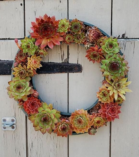 how to reuse and recycle tires for door wreaths
