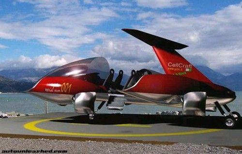 cell craft g440, concept car, concepts, flying car, futuristic car, future aviation, paul moller, vtol