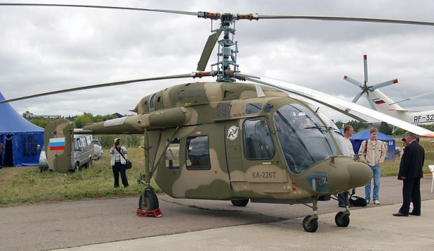 Kamov Ka-226 is a small twin-engine helicopter Russian utility it an interchangeable rear cabin, rather than a regular cab, allowing the use of different equipment configurations. The Ka-226 entered service in 2002. The Ka-226T is equipped with Turbomeca Arrius 2G1 engines.