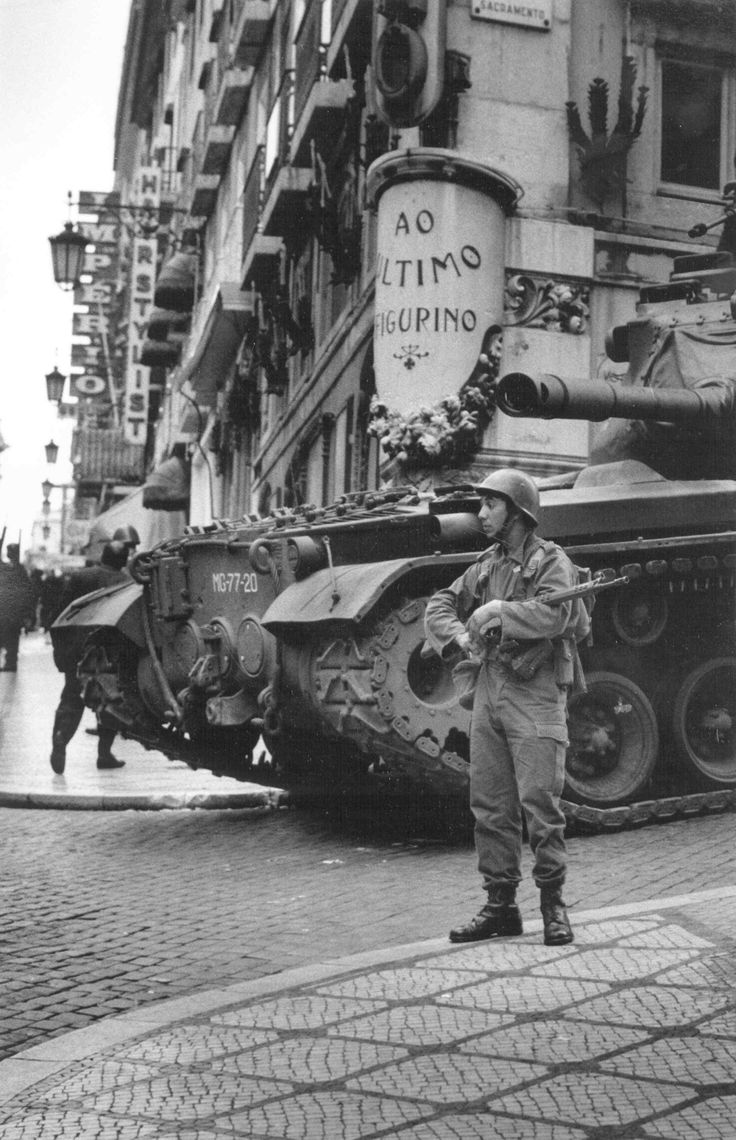 Carnation Revolution in Portugal