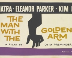 1955 'The Man With The Golden Arm' Original Film Poster #vintageposters #vintageseekers