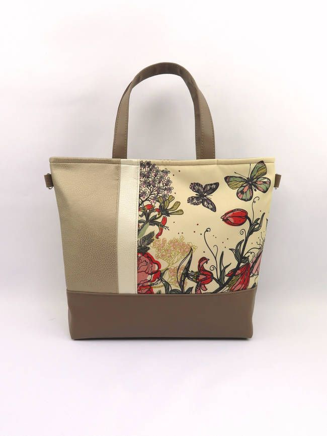 Szép nyárias pillangó mintát választottam ehhez a táskához ea7023646f