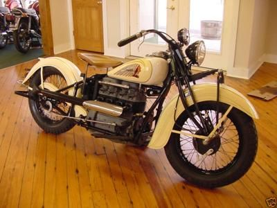 antique motorcycles for sale | Four 4 Cyclinder 1939 Indian Motorcycle