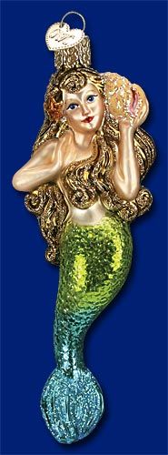 Check out the deal on Old World Christmas® Mermaid Ornament at ChristmasOrnamentStore