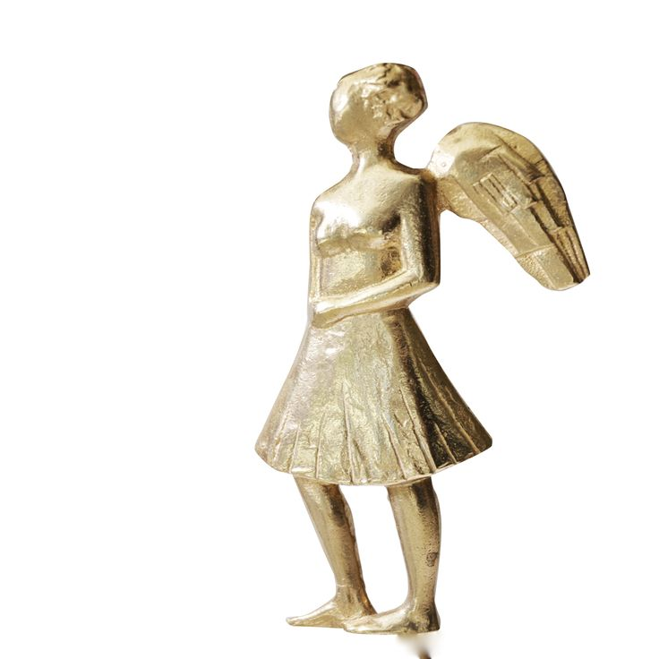 Angel. Casted Bronze. Louisa Dimitriou
