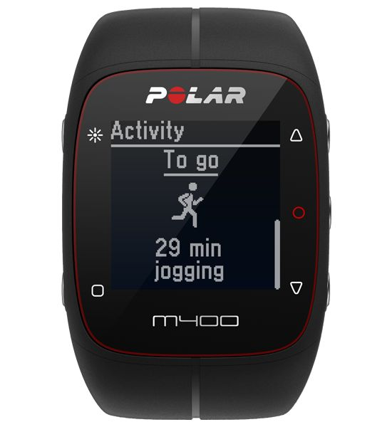 M400 A stylish GPS companion with 24/7 activity tracking