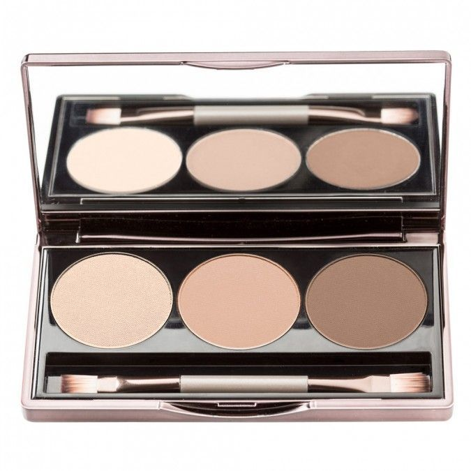 Nude By Nature Ultimate Nude Eyeshadow Palette, Crème, Latte & Espresso 9 g