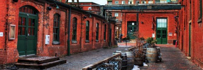 13 Things Every Tourist Should Do In Toronto Distillery District, Toronto   © Ryan/Flickr