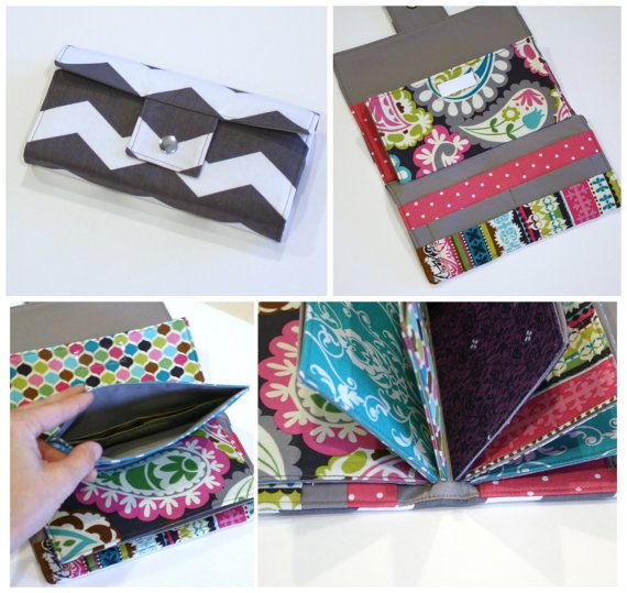 ****This is a DIGITAL SEWING PATTERN. It is not an actual wallet. It is a pattern to make your own wallet. Please read entire listing before purchasing. Thanks!****  This is a PDF pattern for a wallet inspired by Dave Ramseys cash envelope system. The pattern includes everything you need to know to make a wallet that has six envelopes, each with a plastic sleeve to slip in labels; four (4) credit card slots, with a checkbook pocket behind them; and a zipper pocket for change with a large…