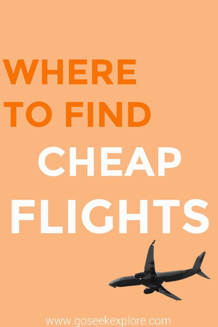 The Best Places To Find Cheap Flights