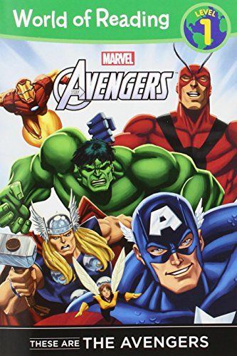 These are The Avengers Level 1 Reader (World of Reading) by Disney Book Group http://smile.amazon.com/dp/1423153987/ref=cm_sw_r_pi_dp_DVCfwb1KZM076