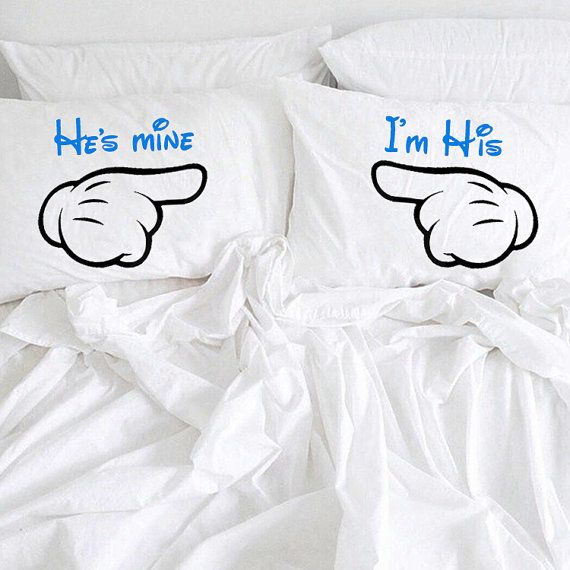 He's Mine I'm His pillowcases Gay Couple by CreativePillowLV