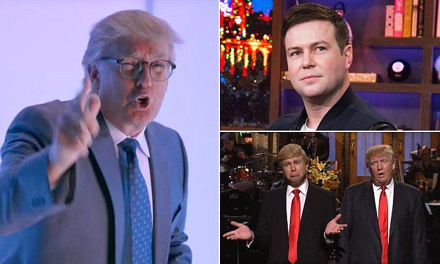 Taran Killam says Trump🤡 was a 'moron' as SNL host | Daily Mail Online