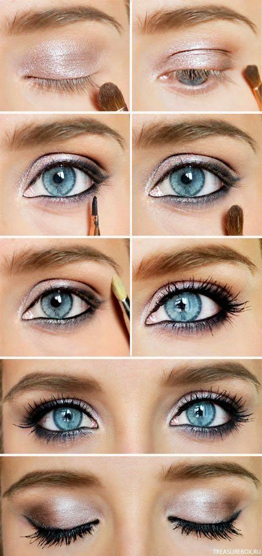 Beautiful Glitter Smoky Eye Makeup Tutorial