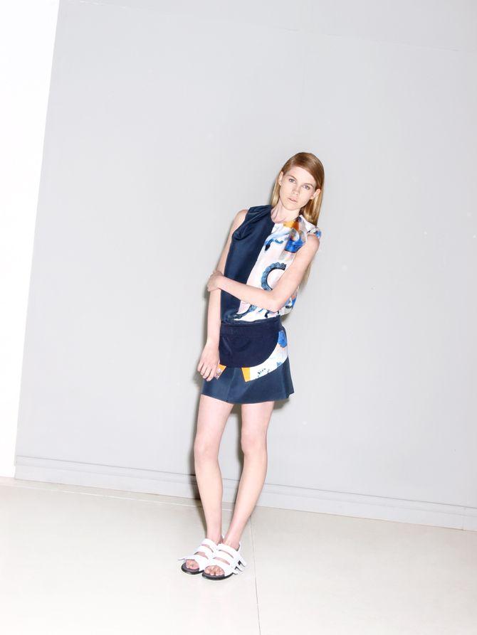 #print #skirt #shirt #colors #textile