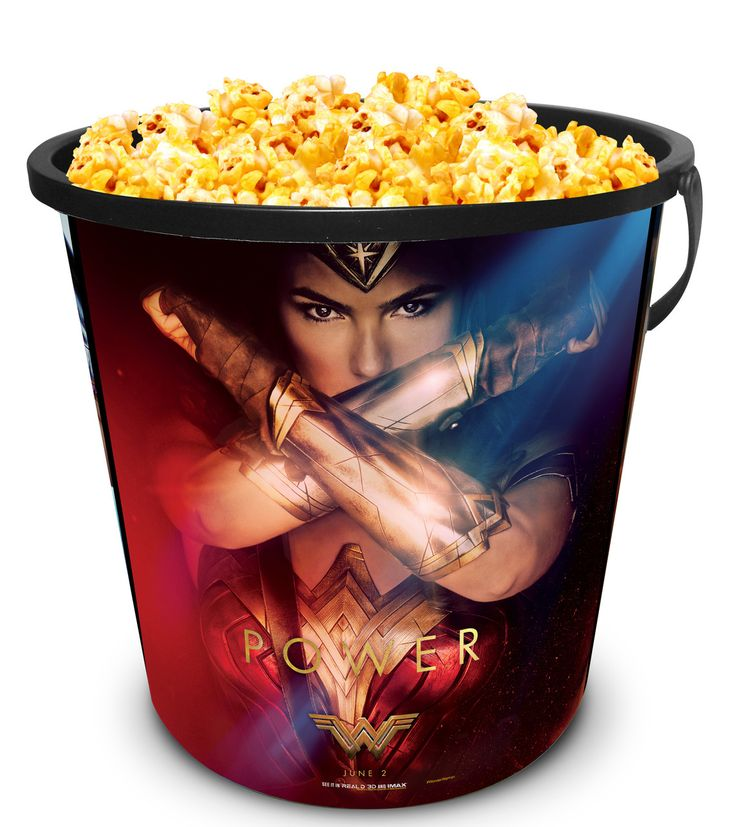 Star Force collectibles - DC Comics: Wonder Woman Movie Theater Exclusive 130 Plastic Popcorn Tub, $9.99 (http://www.starforcecollectibles.com/dc-comics-wonder-woman-movie-theater-exclusive-130-plastic-popcorn-tub/)