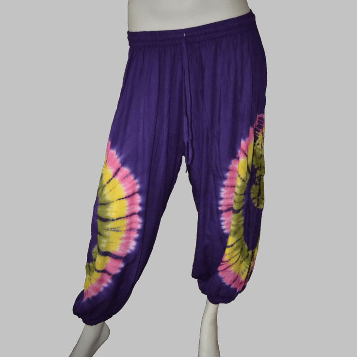 Tie-Dyed Hippie Pants