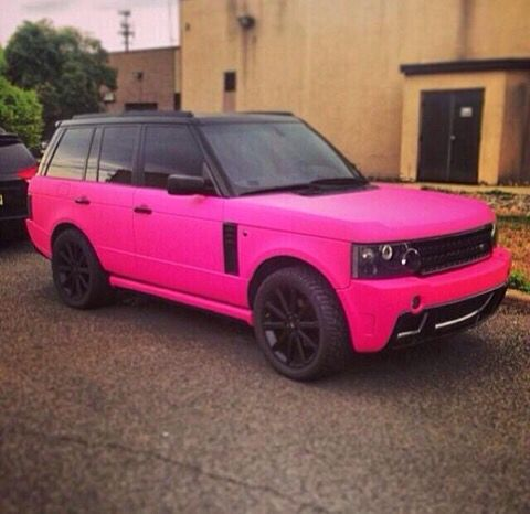 Range Rover Lease Price >> matte pink range rover. | whips | Pinterest | Pink, Range rovers and Pink range rovers