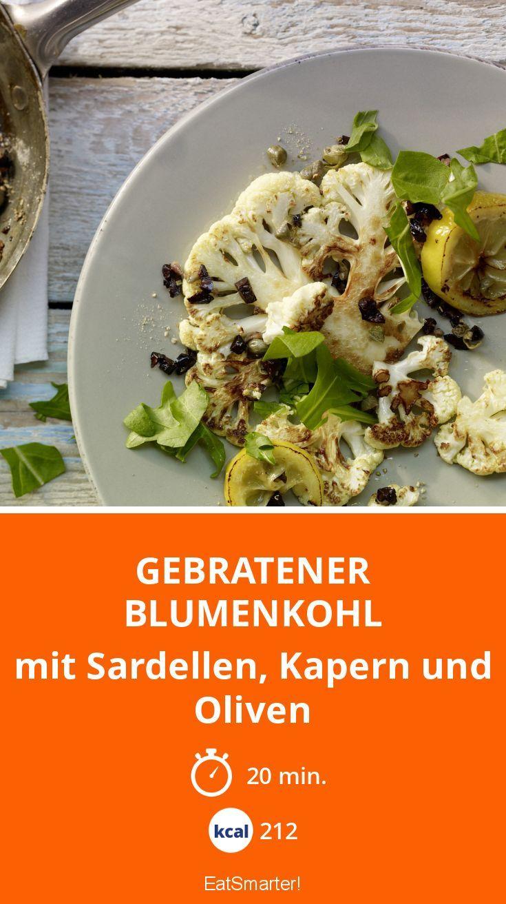 Blumenkohl mal anders. Genieße dieses Gericht ohne Reuhe und nur 200 Kalorien.