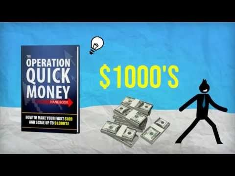 How to Make money in 2 week  fee guide Download The operation Quick Money for free. Discover How anyone can make money onine within 2 weeks