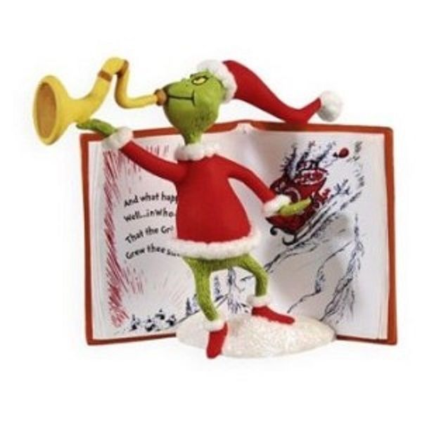 HALLMARK ORNAMENT 2009 DR. SEUSS HOW GRINCH STOLE CHRISTMAS MEANS SOMETHING MORE