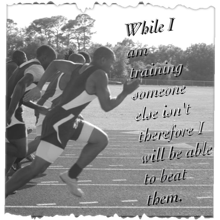 running sprinting track field my quote running