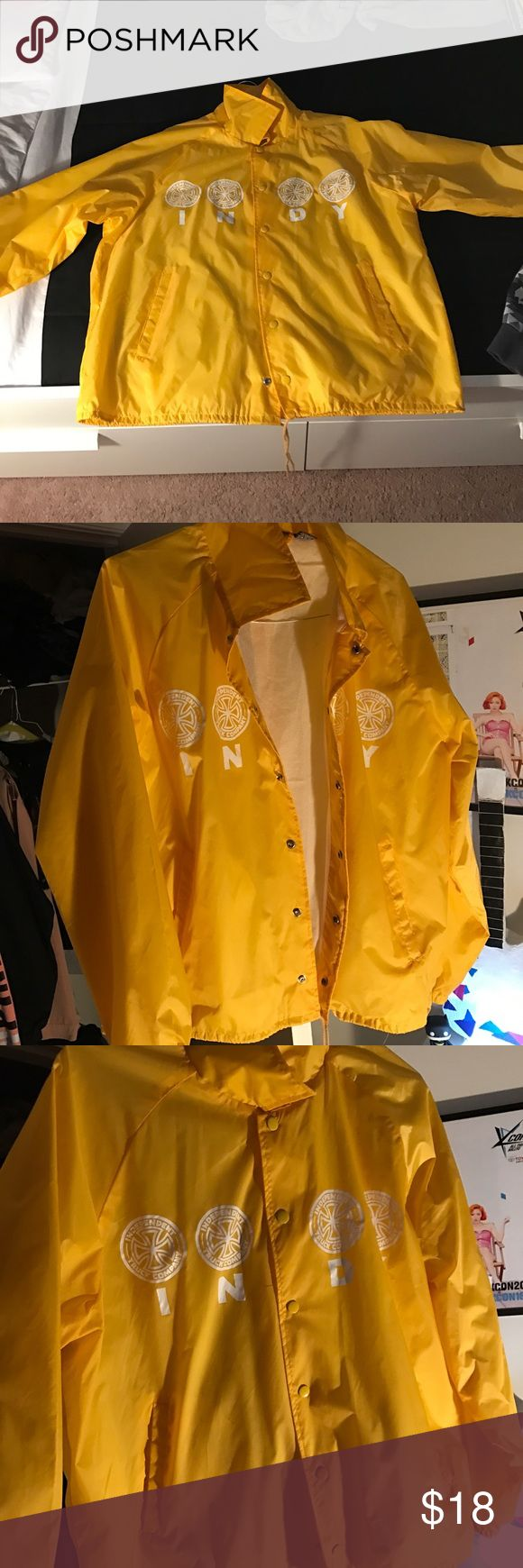 Independent truck jacket FOR SALE 😁 Men's Indy rain jacket. Size Large NOT WORN AT ALL. Jackets & Coats Raincoats