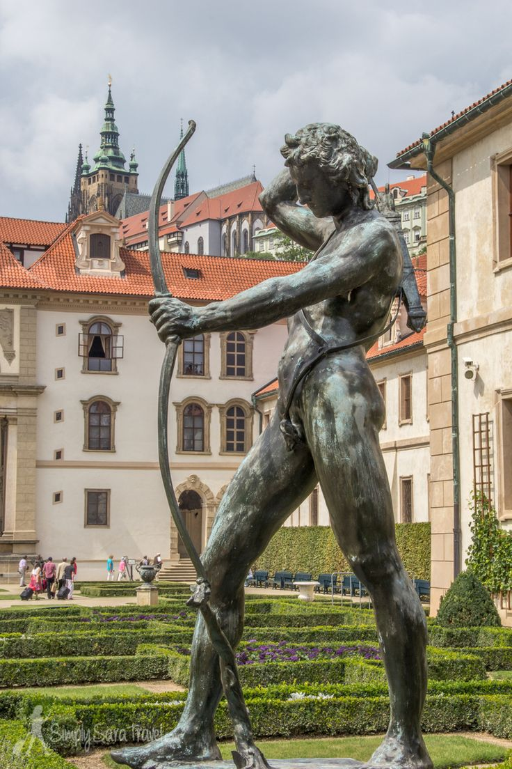At Wallenstein Garden, Prague, Czech Republic