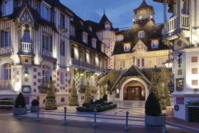 Séjour pour 2 à l'Hôtel Barrière Le Normandy Deauville***** à Deauville (14)