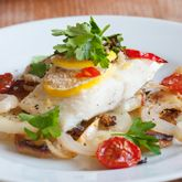 Dermatologist and beauty expert Dr. Jessica Wu shares her recipe for halibut with tomatoes, olives, and capers.