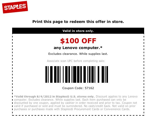 Lenovo discount coupons