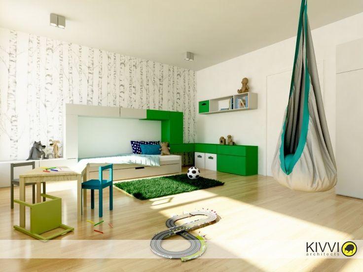Prepojené detské izby
