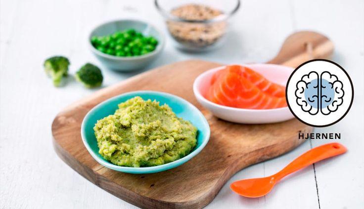Barnas laks med brokkoli og ris