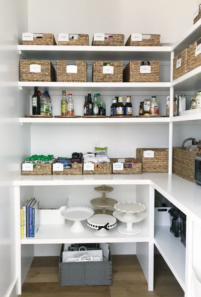 Re Organized Updated Pantry Simply Organized Bloglovin Home Organization Hacks Pantry Organization Home Organization