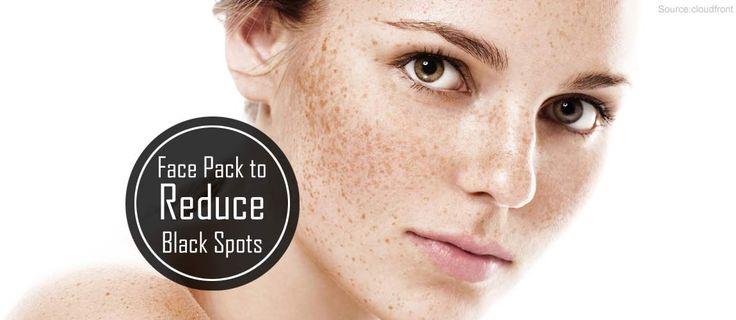 Dark Spots on Face? Best Face Pack to Reduce Black Spots