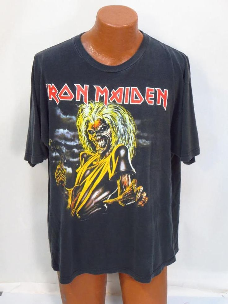 Iron Maiden 'The Killers' Concert Tee Shirt *