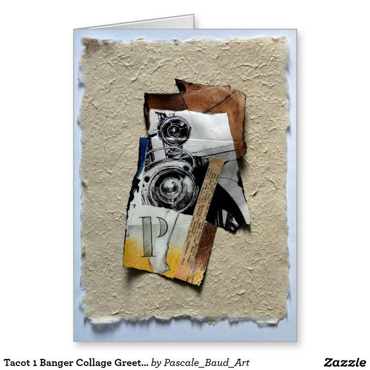 Tacot 1 Banger Collage Greeting Card