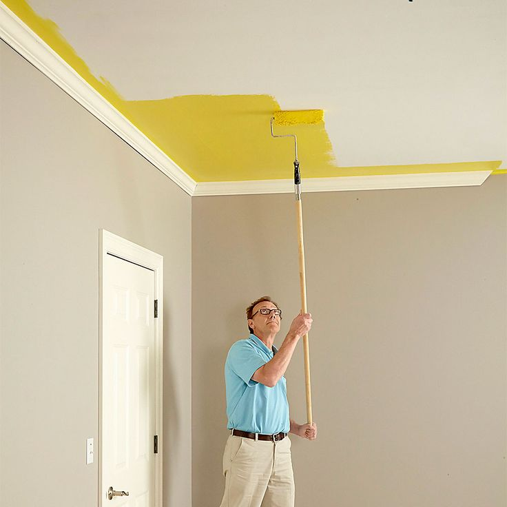 Don't Be Afraid of Color - How to Paint a Ceiling: http://www.familyhandyman.com/painting/tips/how-to-paint-a-ceiling