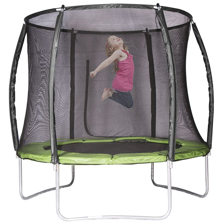 Action Curved 8ft Trampoline (2 box version) | Toys R Us Australia