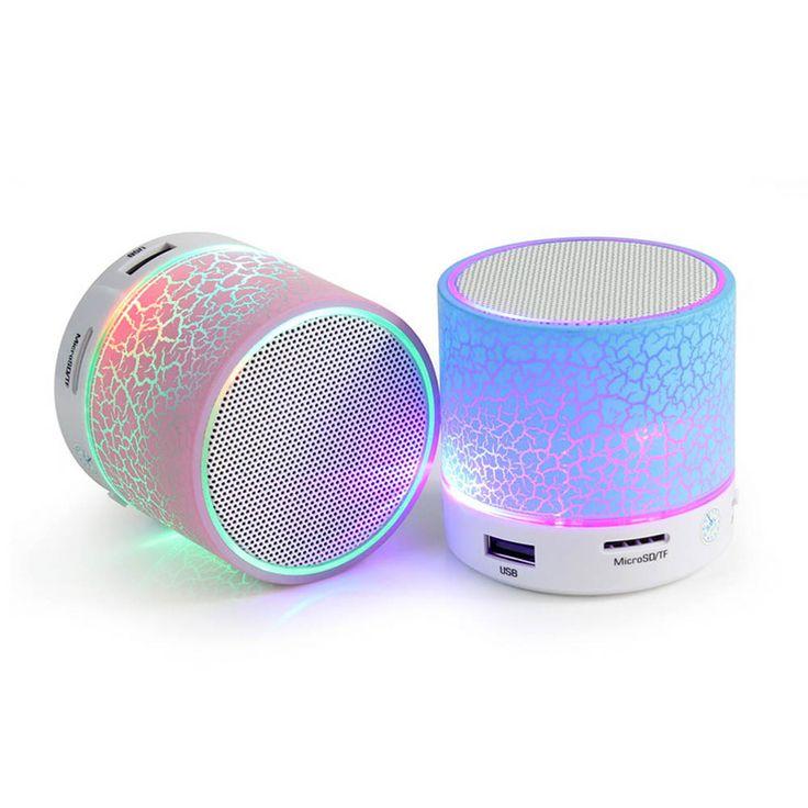 Original Novo MINI Alto falantes Sem Fio Bluetooth Speaker Subwoofer Portátil Colorido USB Speaker Música Caixa de Som chamada Mão livre LED em Ciaxas de som de Eletrônicos no AliExpress.com | Alibaba Group
