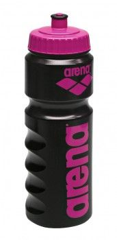 Arena Water Bottle - Black / Pink